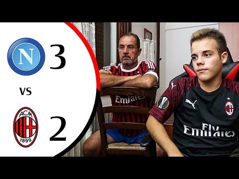 Assurdo... - NAPOLI 3-2 MILAN | LIVE REACTION GOL HD