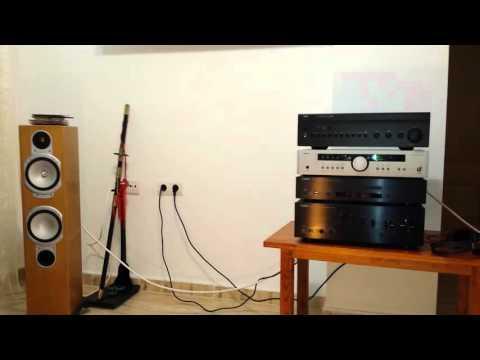 Audio test Arcam a85 NAD 356 BEE Yamaha A-S700 + CD-S700 +rs6