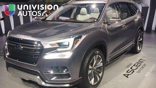 Video: La Subaru Ascent SUV Concept será la próxima gran utilitaria de Subaru