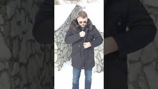 Мужская зимняя куртка Аляска с мехом