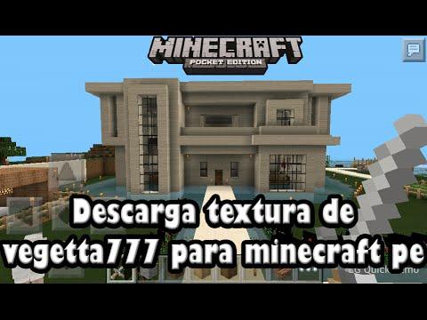 Descarga la textura de vegetta777 para minecraft pe for Casa moderna para minecraft pe 0 14 0