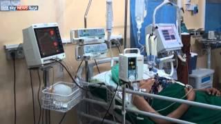 انقطاع مادة الأوكسجين يهدد آلاف المرضى بتعز
