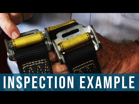 How To Inspect Fall Protection Equipment | Harness, Bolt Hole Anchor, Connectors, Snaphooks