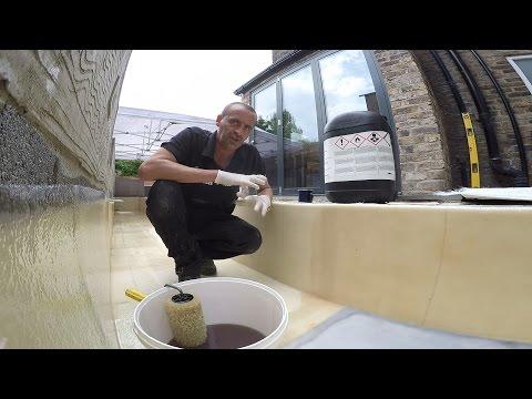 How to waterproof water features