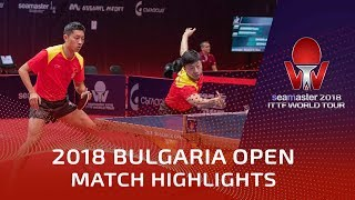 Ma Long/Xu Xin vs Kim Daewoo/Hogyun Baek | 2018 Bulgaria Open Highlights (R16)