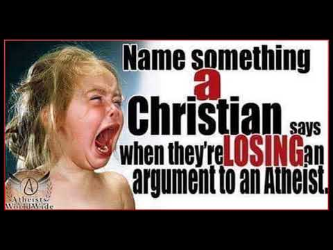 When Christians are Losing the Argument