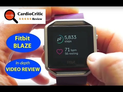 Fitbit Blaze - Walk through product review