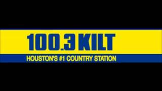 100.3 KILT Houston - top of hour/Hudson & Harrigan