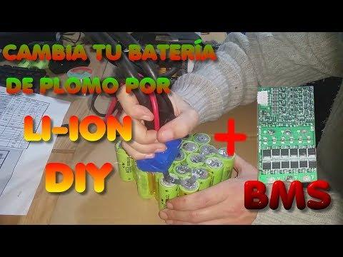 Sustituyendo batería de plomo por Li-Ion: 12V LiFePo4 DIY