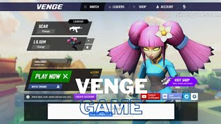 Online multiplayer game without downloading || Browser Game || VENGE