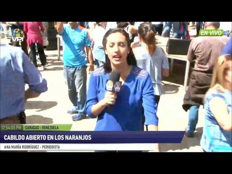 Venezuela - Así se llevó a cabo Cabildo abierto en Los Naranjos - VPItv