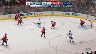 Финал Кубка мира 2016. Канада - Сборная Европы. Матч #1 | 2016 WCH Final. Europe - Canada. Game #1