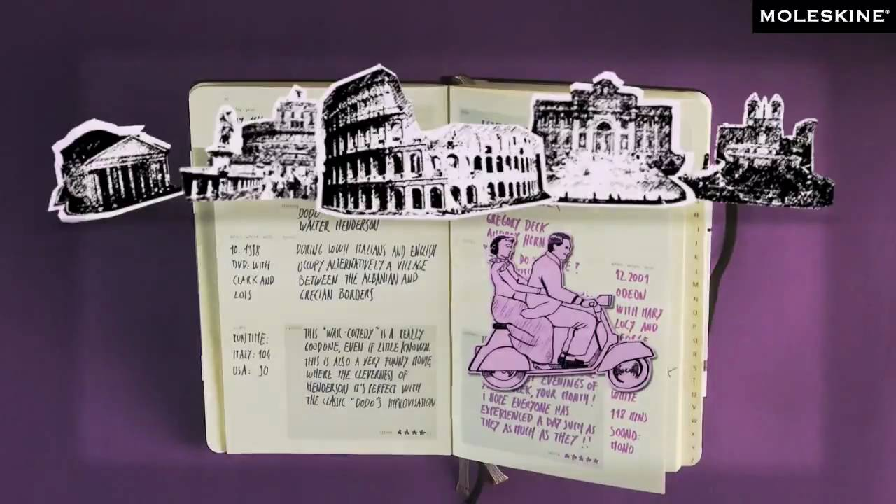 Moleskine papermania for Moleskine book journal template