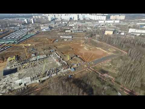 Облет ЖК Лучи от 08.04.2016