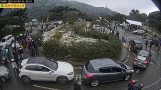 【#中天最新LIVE】陽明山國家公園超美雪景|2021.01.09