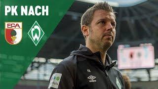 FC Augsburg - Werder Bremen 2:3 - Pressekonferenz | SVW
