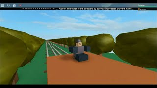 ROBLOX Thomas and the Magic Railroad Chase Scene with PT Boomer