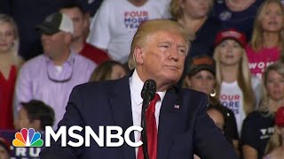 "President Donald Trump Tries To Distance Himself From ""Send Her Back"" Chant 