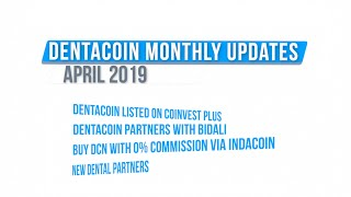 Dentacoin: A Month in Review - April 2019