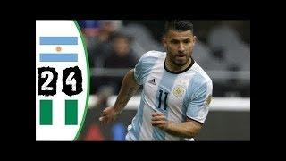 Argentina vs Nigeria 2-4 | All Goals | Arabic Commentary 14/11/2017