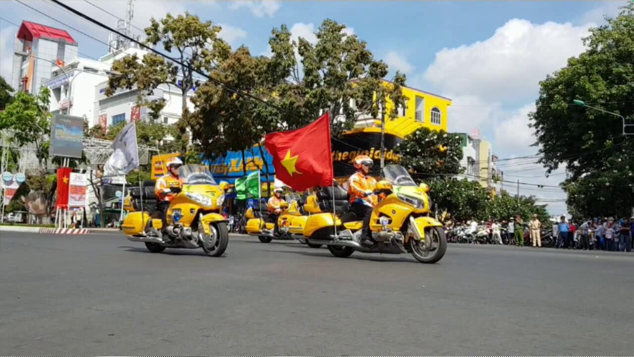Đua xe đạp mừng ngày Giỗ tổ Hùng Vương tại Cần Thơ 2018