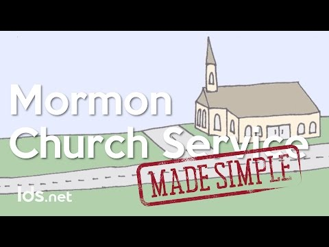 Attending a Mormon Church Service - Made Simple