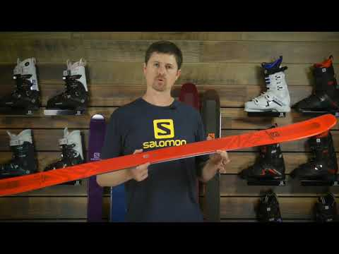 Jess's Review Salomon QST Lux 92 Skis 2019 YouTube