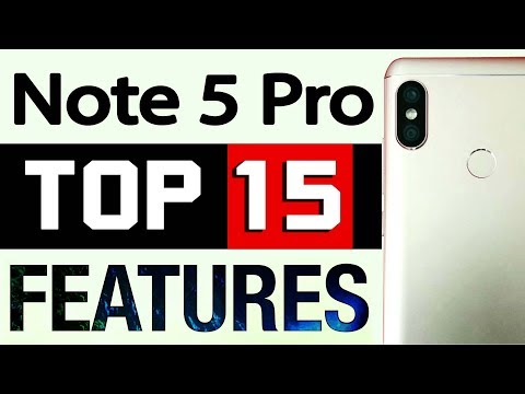 Redmi Note 5 Pro - Top 15 Features | Secret Tips & Tricks by Gizmo Gyan in Hindi