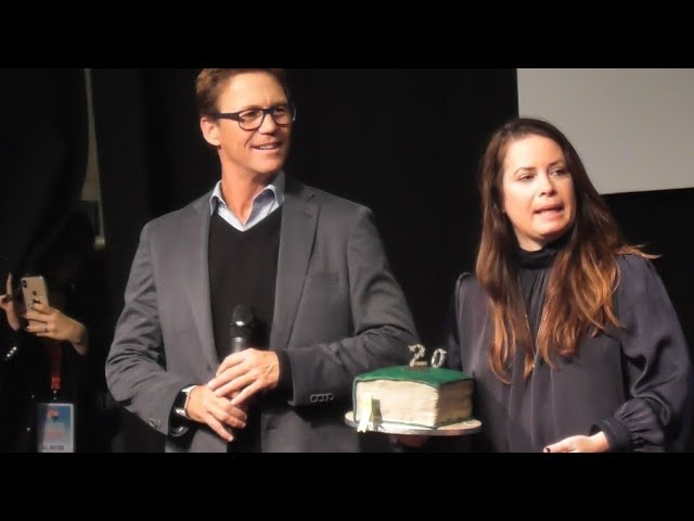 Brian Krause & Holly Marie Combs celebrates 20 years of Charmed @ Paris Manga 20 october 2018