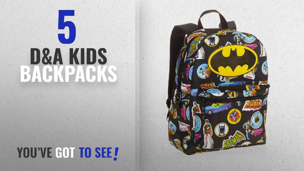18b8e96a3cc2 Best D A Kids Backpacks  2018   Batman Comic 16 Standard Size Backpack