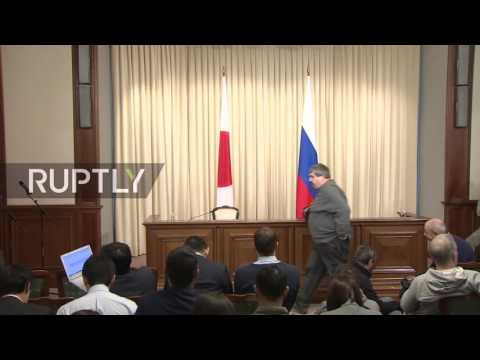 LIVE: Lavrov holds joint press conference with Japanese counterpart Kishida