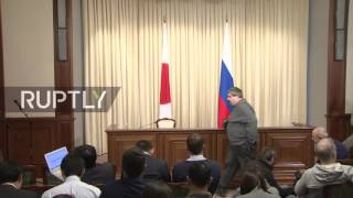 LIVE  Lavrov holds joint press conference with Japanese counterpart Kishida