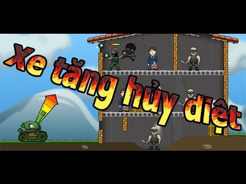Game xe tăng hủy diệt - Video hướng dẫn chơi game 24H