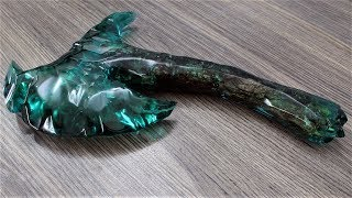How to Make This Axe | Resin Art