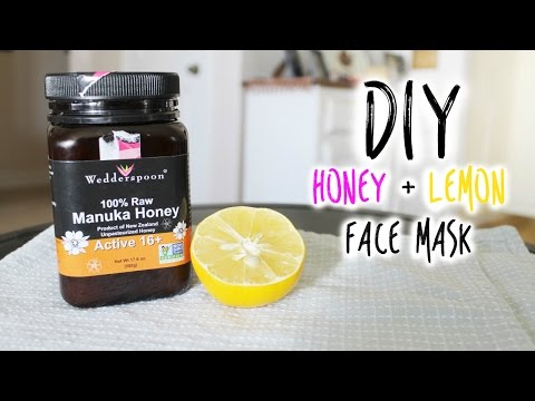 DIY: Honey + Lemon Face Mask | vlogwithkendra