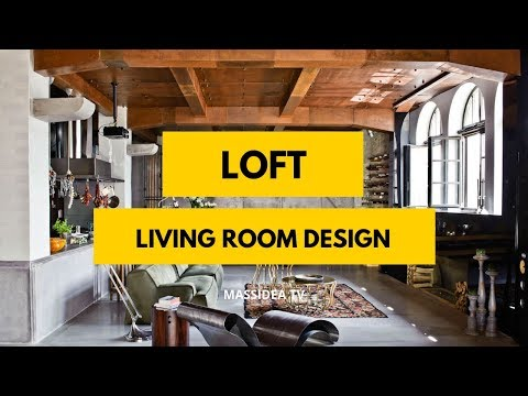 50+ Stunning Loft Living Room Design Ideas for Your Room