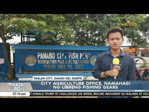Tagum City Agriculture Office, namahagi ng libreng fishing gears