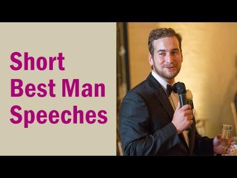 Best Man Speech Outline Examples For 2018 Youtube
