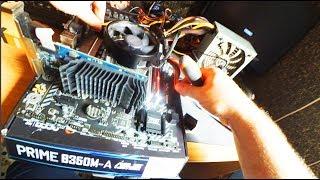 Reparando El PC de un Suscriptor!  AMD Ryzen Fail!