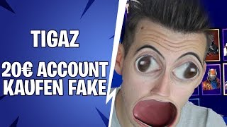 Tigaz buys a *RANDOM* Fortnite Skull Trooper account for 20€ | #Ehregenommen
