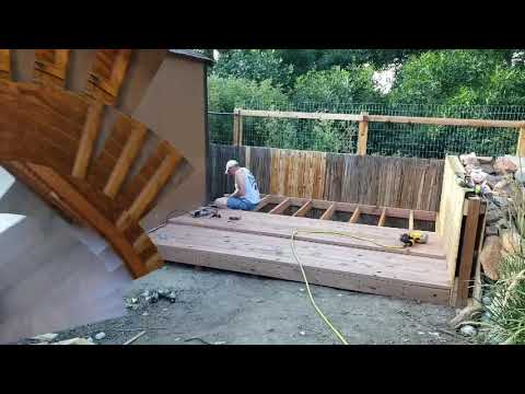 VLOG # 7 Spraying DIY Paint, Farmhouse Decor, Story Time, Stenciled Smalls, The New Deck