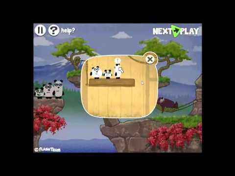 Chơi game Bộ ba gấu trúc 4 - Game Vui