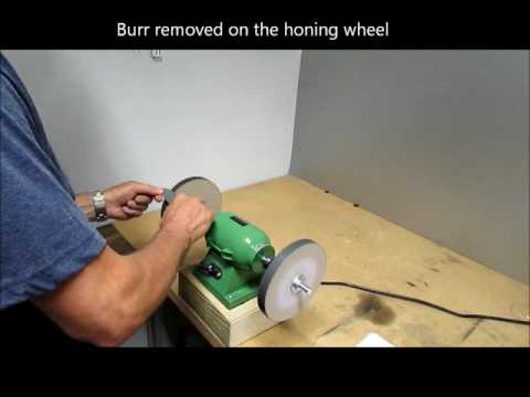 Paper wheels for sharpening