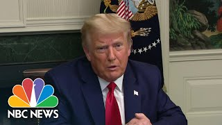 Trump Refers To 'Biden Administration' In Sign Of Election Acceptance | NBC Nightly News