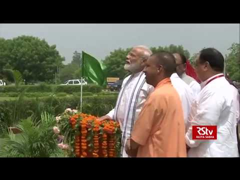 PM Modi unveils statue of former Prime Minister Lal Bahadur Shastri in Varanasi