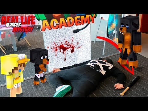 Minecraft MURDER MYSTERY IN REAL LIFE???? - REAL LIFE ROPO IS MURDERED!!