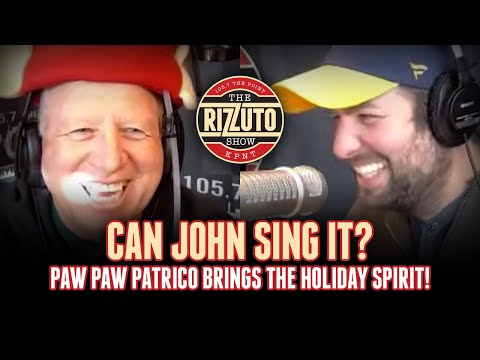 Can John Sing It? STL Paw Paw brings the Christmas spirit! [Rizzuto Show]