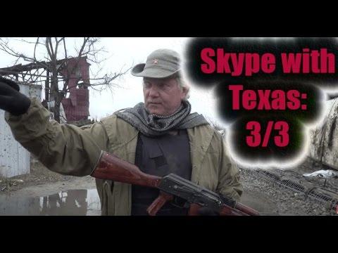 Skype with Texas: American fighter in Ukraine (3/3)
