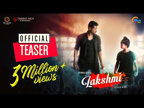 Lakshmi |Tamil Movie Teaser | Prabhu Deva, Aishwarya Rajesh | Vijay | Sam C S | Official