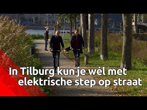 E-Steps staan klaar om toeristen (legaal) een rondje door Tilburg te laten maken